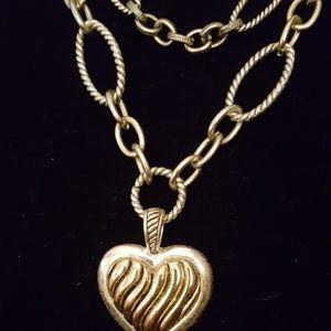 Brighton LIKE multi chain necklace